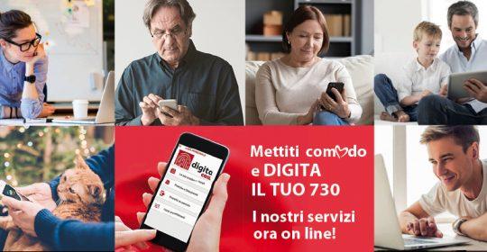 Al via la campagna 730: già attivi gli appuntamenti on line!