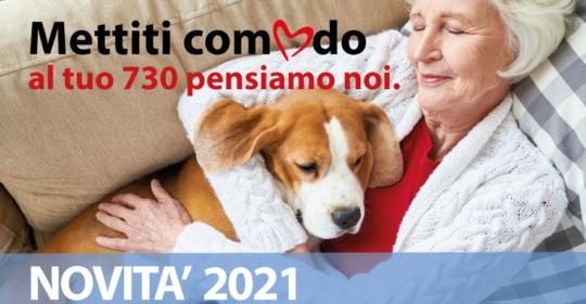 Modello 730/2021: LE NOVITA'